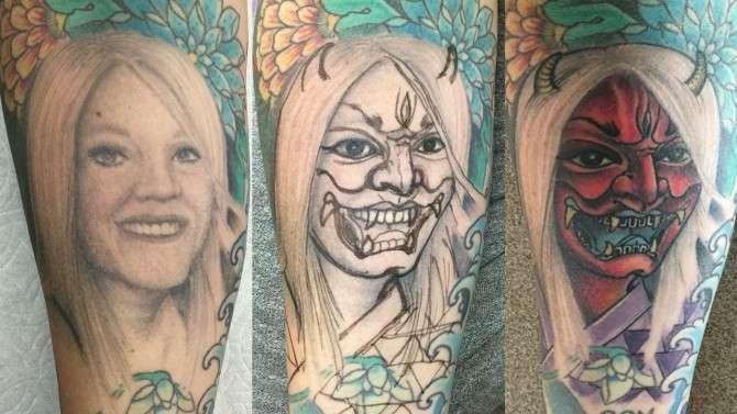 Стираем ошибки молодости: топ-15 перекрытых татуировок-16 фото-
