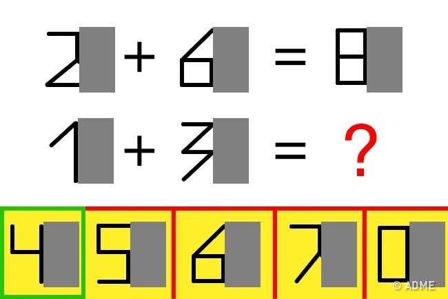 Если вырешите эти головоломки за30секунд, выгений