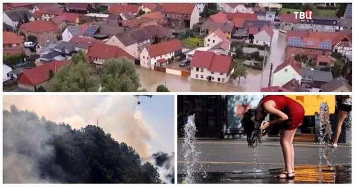 Рекордная жара, получившая название -Люцифер-, поджаривает Европу-10 фото-