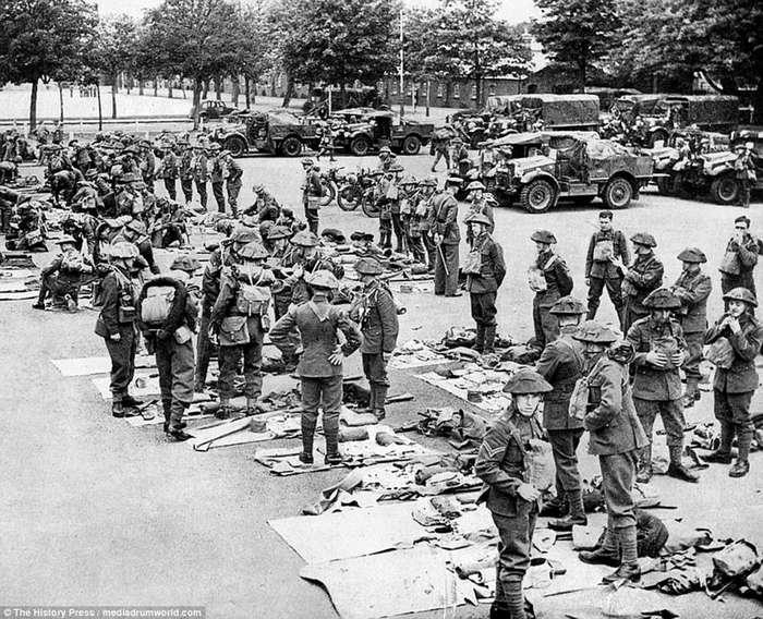 -Дюнкерк-: исторические кадры эвакуации 1940 года, вдохновившие создателей фильма-20 фото-