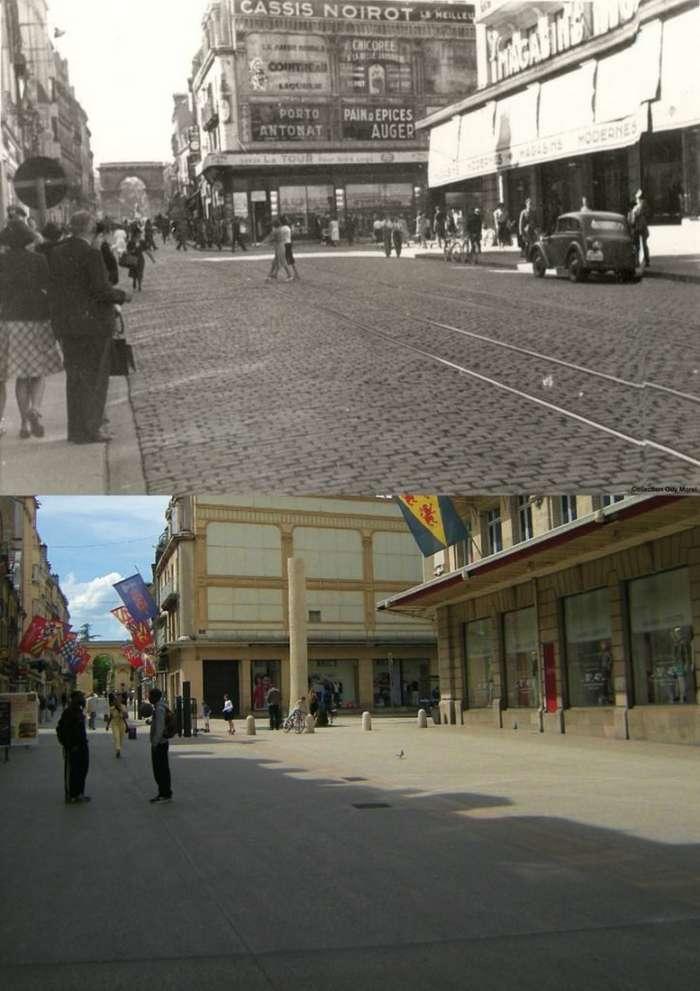 Тогда и сейчас: фотографии мест во время Второй мировой войны и сегодня-10 фото-