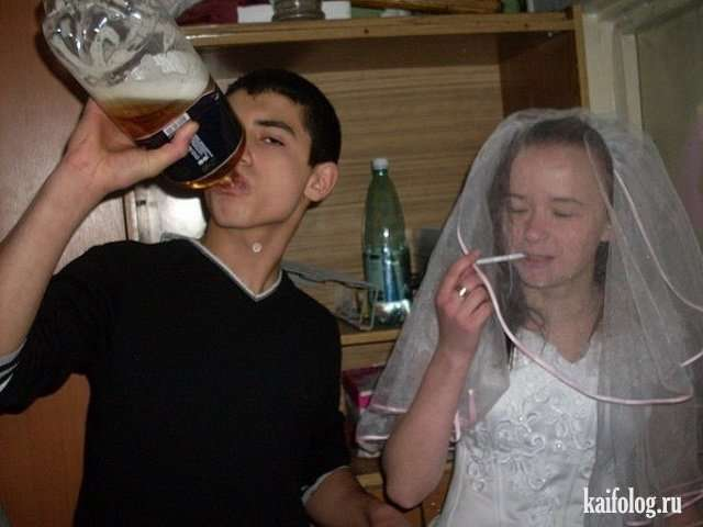 Жуткие свадьбы из социальных сетей (60 фото)
