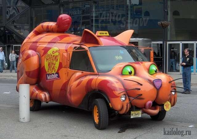 Самые необычные авто (45 фото)