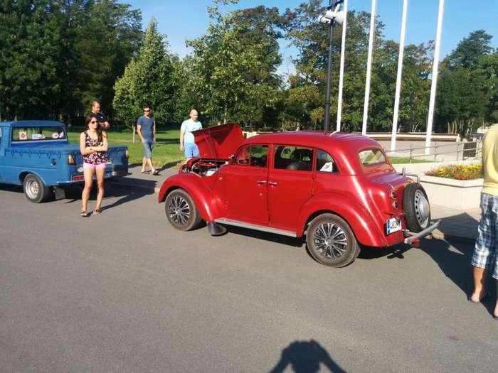 Автопробег Эстонского клуба любителей -Mосквичей--21 фото-