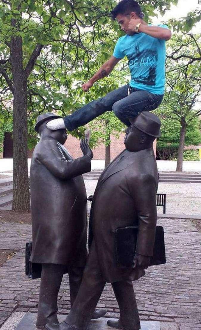 Идеи для фото с памятником