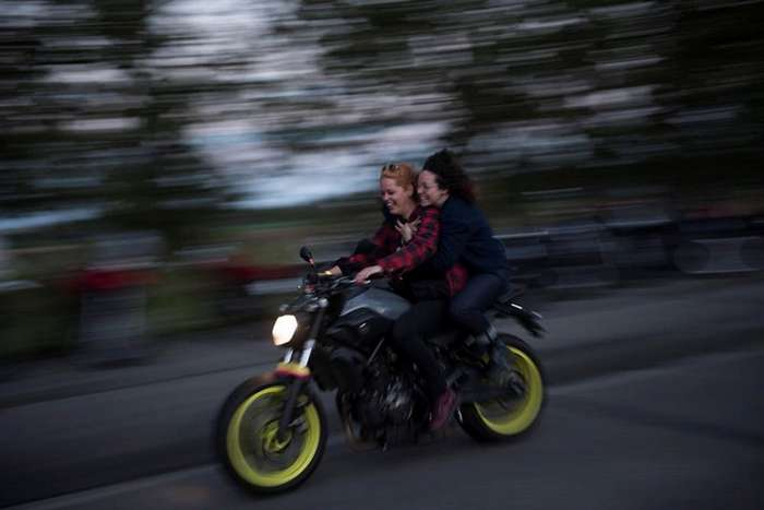 Petrolettes - женский мотофестиваль в Германии-30 фото-