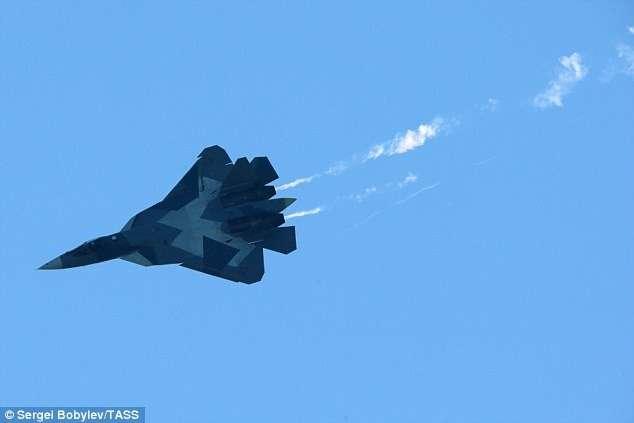 Запад в шоке: Россия представляет новый флот -невидимых- истребителей-5 фото-