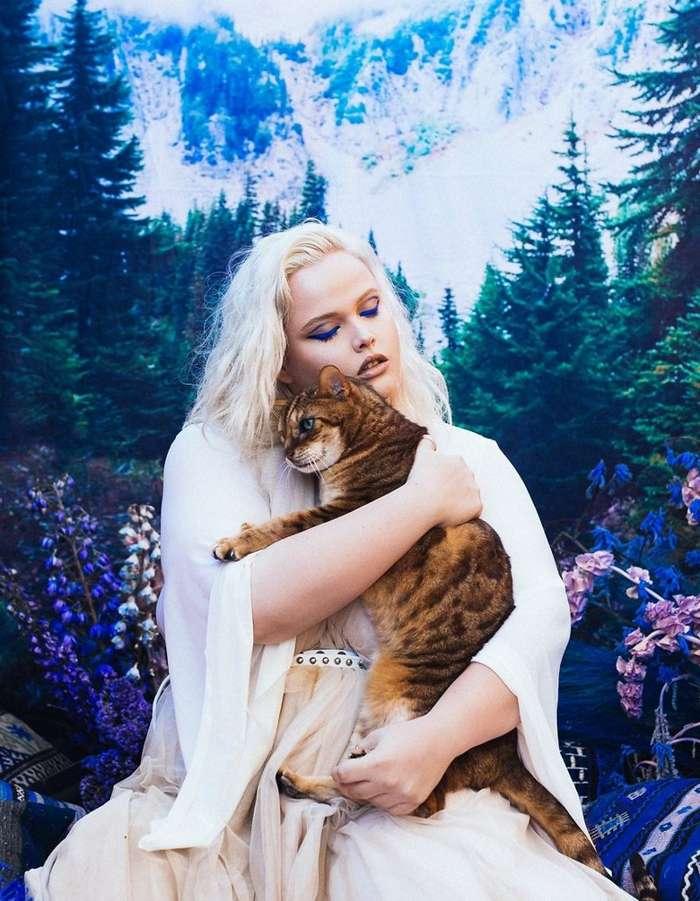 Завораживающая фотосессия с экзотическими животными, спасенными от продажи на черном рынке-20 фото-