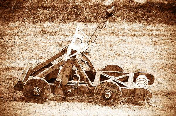 Средневековая не огнестрельная артиллерия-27 фото-