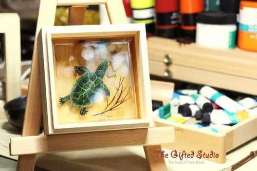 Трёхмерные смоляные картины художницы Лиллиан Ли (19 фото)