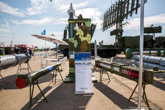МАКС-2017. Средства ПВО-32 фото-