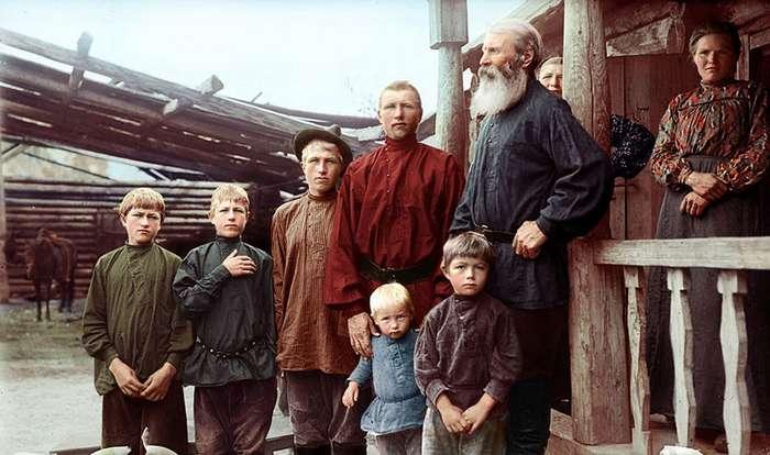 Россия xx века в цвете-55 фото-