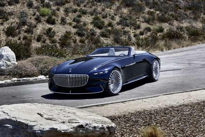Роскошный кабриолет Mercedes-Maybach 6 представили в Пеббл-бич-27 фото + 1 видео-