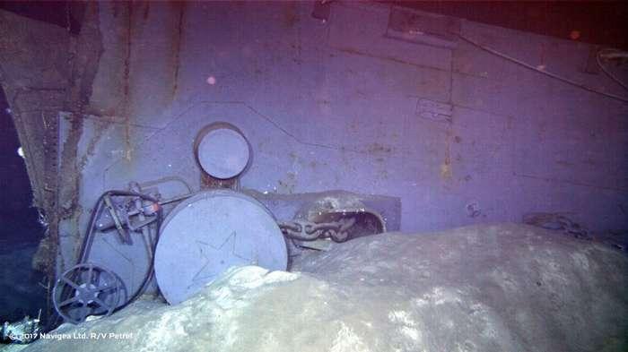 Судно соучредителя Microsoft обнаружило крейсер -Индианаполис-, 72 года пролежавший на морском дне-10 фото-