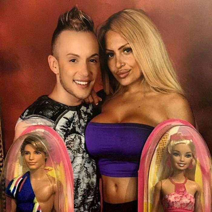 Самые знаменитые -живые Барби--46 фото-