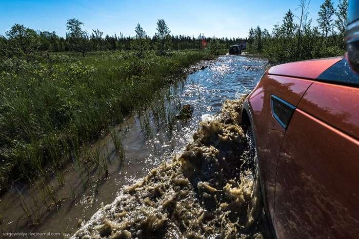 Экстремальная дорога до Ловозёр-21 фото-