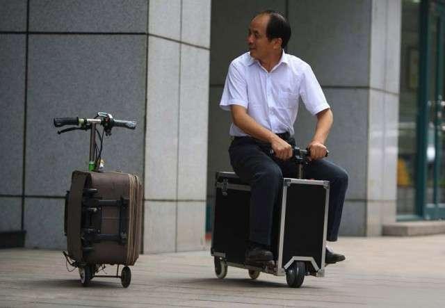 -К поездке готовы!- - фото пассажиров с их удивительным багажом-18 фото-