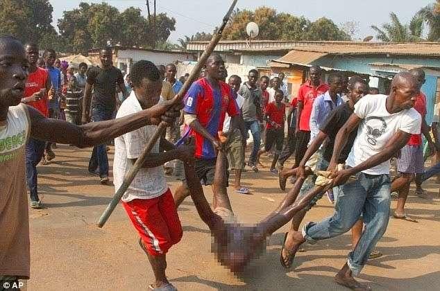 В ЮАР каннибалу надоело есть людей и он решил сдаться полиции-2 фото-