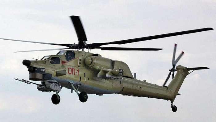 В России построили первые серийные ударные вертолеты Ми-28УБ-3 фото-