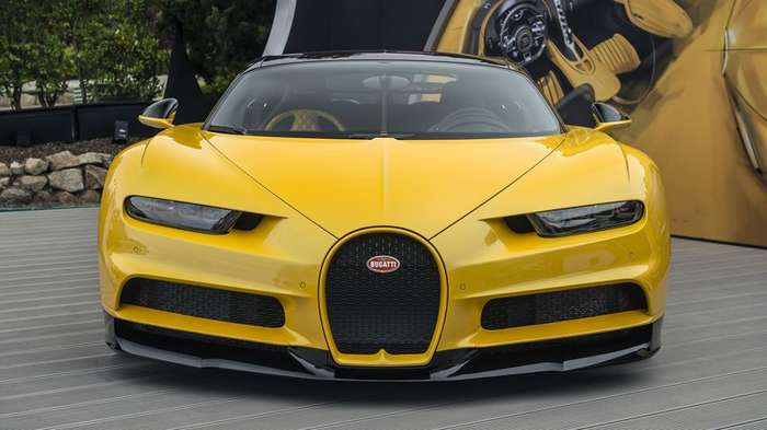 Распаковка первого в США Bugatti Chiron-14 фото + 1 видео-