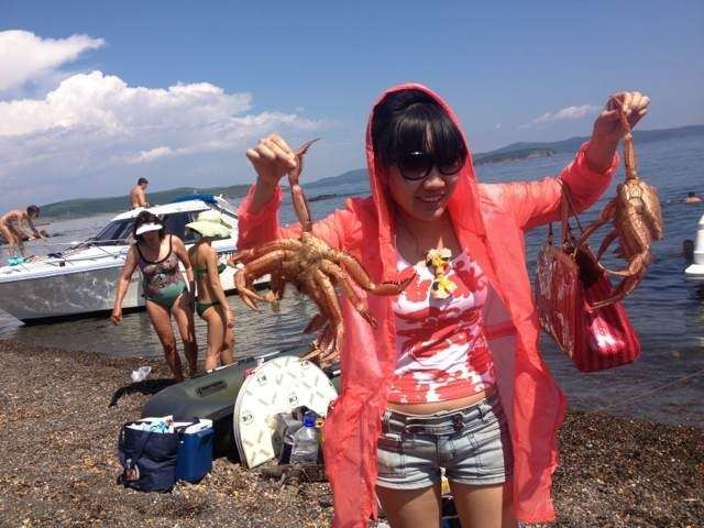 Как отдыхают китайцы на Байкале!-8 фото-