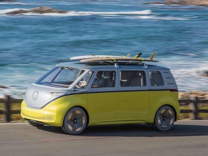 Легендарный микроавтобус Volkswagen возвращается, и он будет электрическим-2 фото-