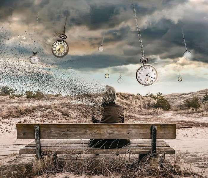 Цифровые фотоманипуляции, в которых искривляется пространство и время-60 фото-