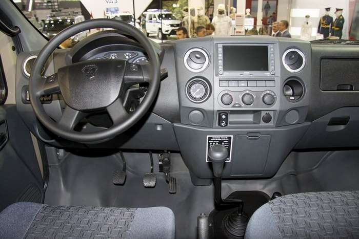 ГАЗ показал внедорожник-пикап -Вепрь-Next--8 фото-