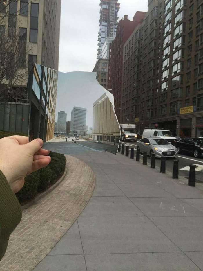 Художница объединяет прошлое с настоящим-16 фото-