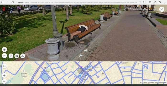 Самые необычные и сумасшедшие снимки с Google и Яндекс панорам-20 фото-