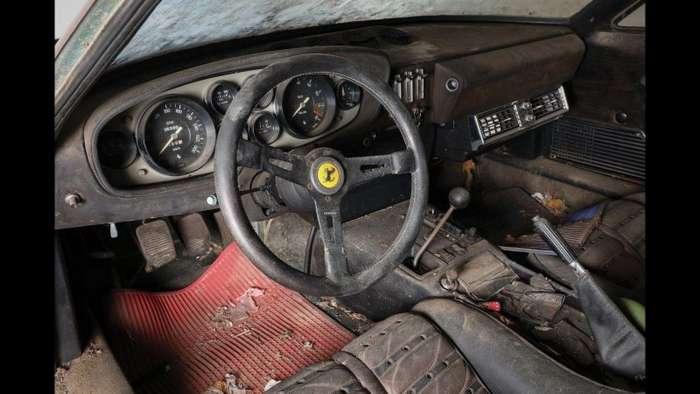 Забытая Ferrari Daytona 1969 может стоить 2 миллиона долларов-26 фото-