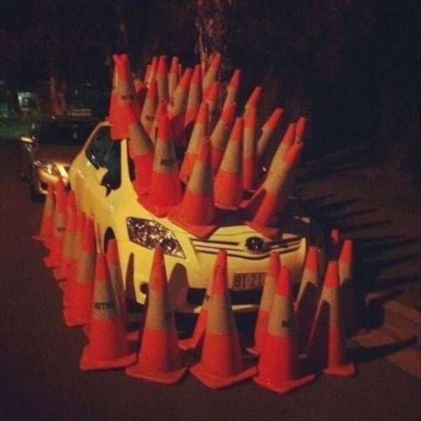 Народная автомобильная месть-25 фото-