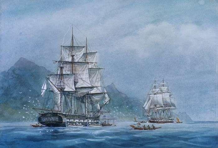 Крузенштерн сделал свою родину великой морской державой-6 фото-