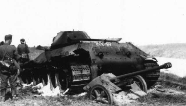Т-34 41-го и его -ахиллесова пята- глазами немецкого артиллериста-6 фото-