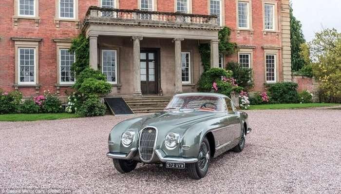 Возможно самый редкий Jaguar в мире показали на конкурсе элегантности-25 фото + 1 видео-