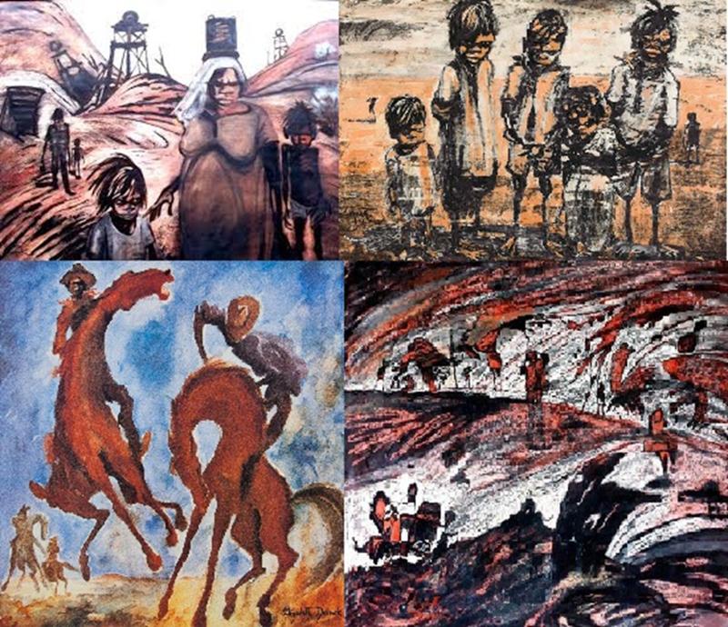 Поддельное искусство. Псевдо абориген или Кузьмы Прутков по-австралийски-7 фото-