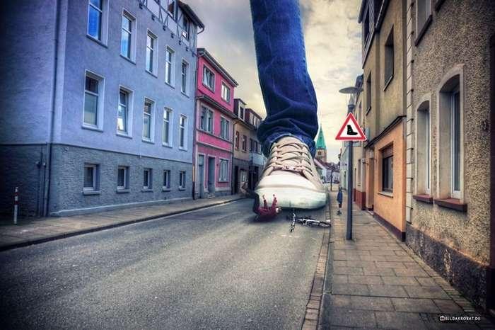 Мастер фотошопа фантастично преображает городские пейзажи-13 фото-