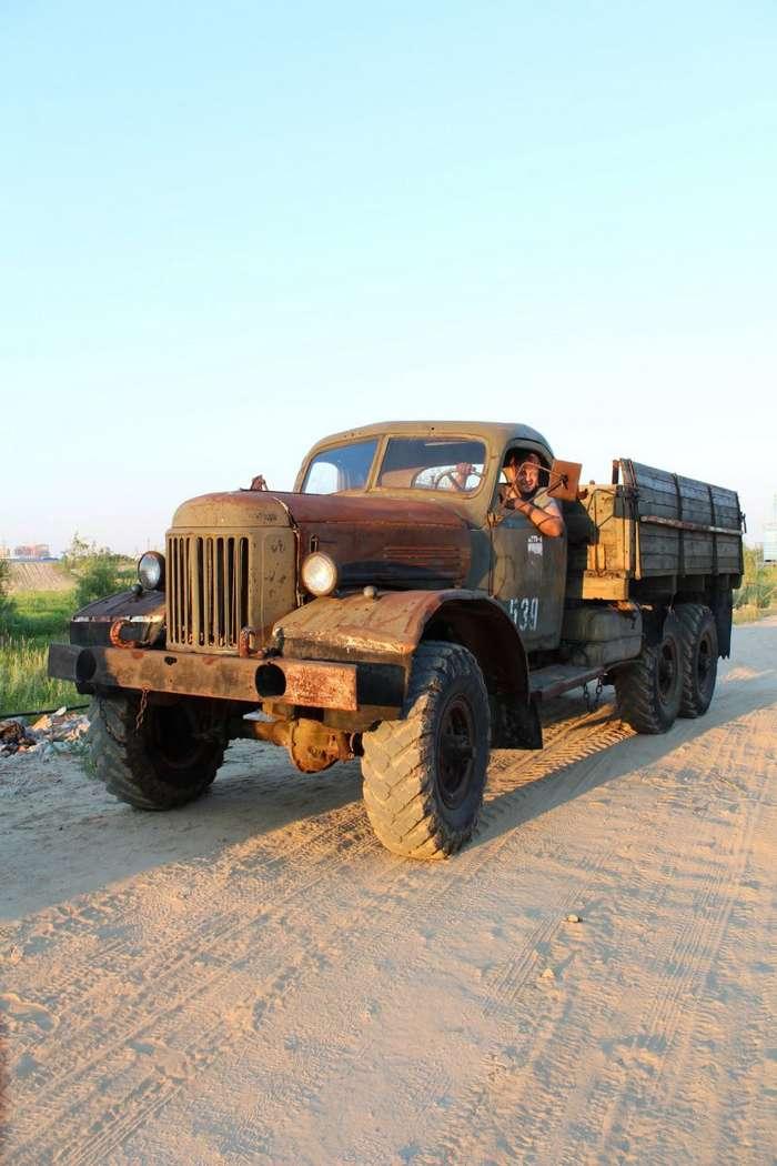 ЗиЛ-157 - Восставший из ада, или танк постапокалипсиса-16 фото-