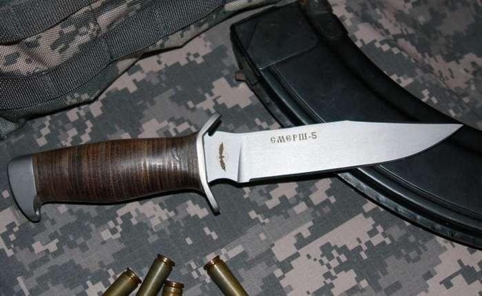 Разящая сталь: боевые ножи русского спецназа-8 фото + 1 видео-