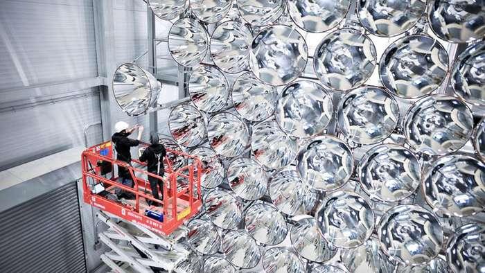 В Германии создали крупнейшее в мире -искусственное солнце--4 фото-