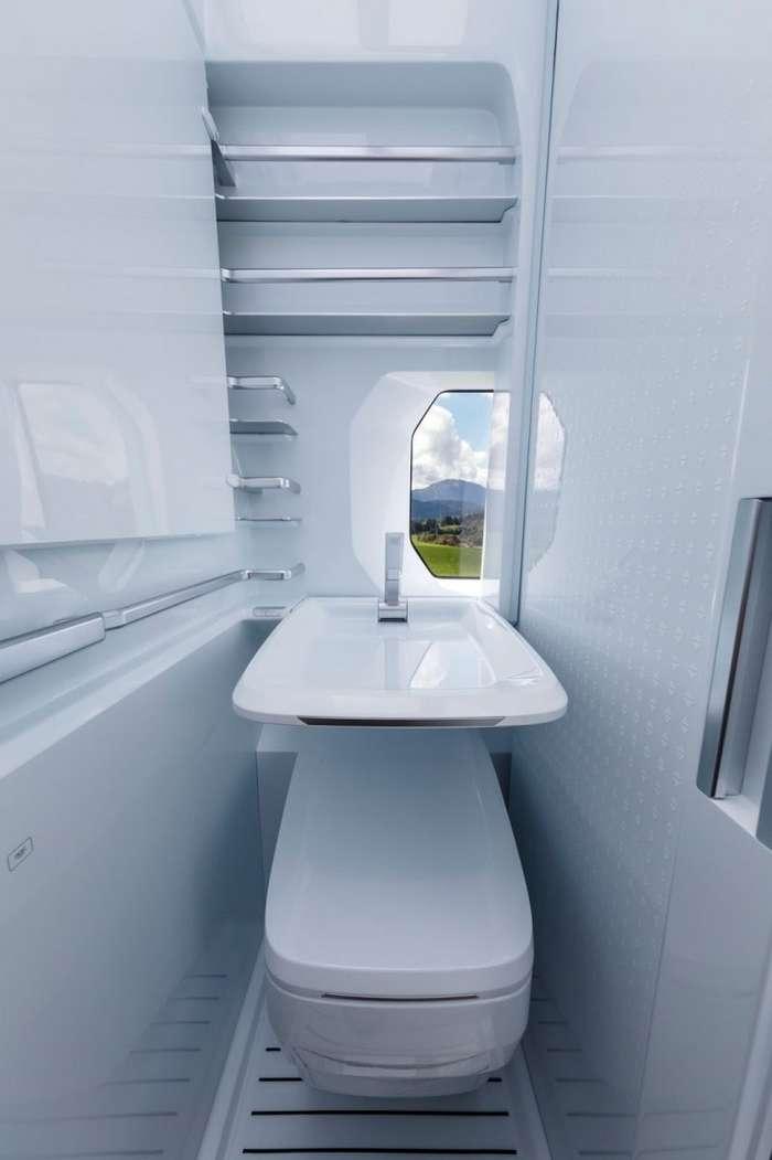 Volkswagen создал дом на колесах на базе фургона Crafter-37 фото-