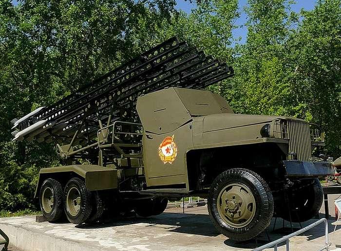 Люди и техника Победы: Боевая машина БМ-13 -Катюша--22 фото-