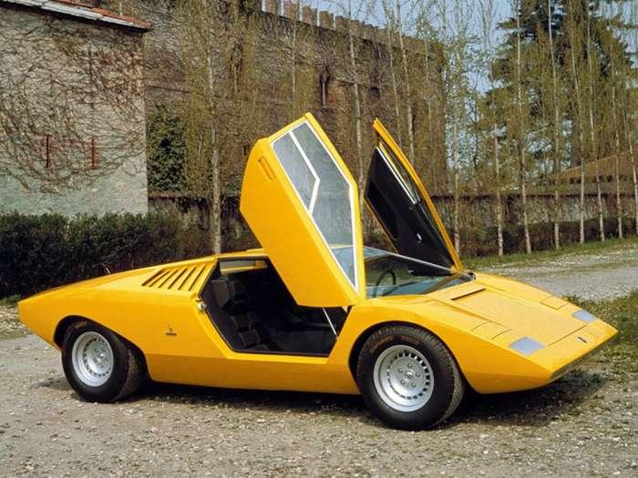 Высокое искусство - Концепт Lamborghini Countach LP500-20 фото-