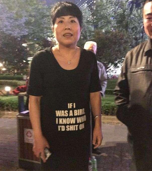 Эти китайцы даже не представляют, что написано на их одежде!-29 фото-