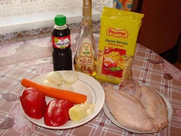 Как приготовить куриную лапшу по-китайски вкуснее и дешевле, чем в ресторане-3 фото-