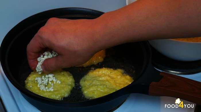 Драники с сыром фета-13 фото-