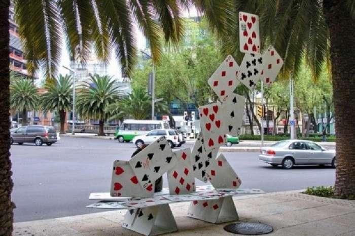 Самые креативные и необычные скамейки-35 фото + 1 видео-