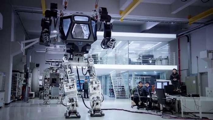Опубликовано видео испытаний американского военного робота