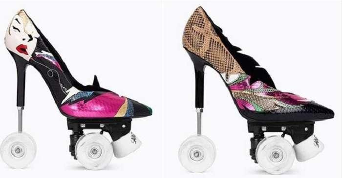 Обувный экстрим от Yves Saint Laurent