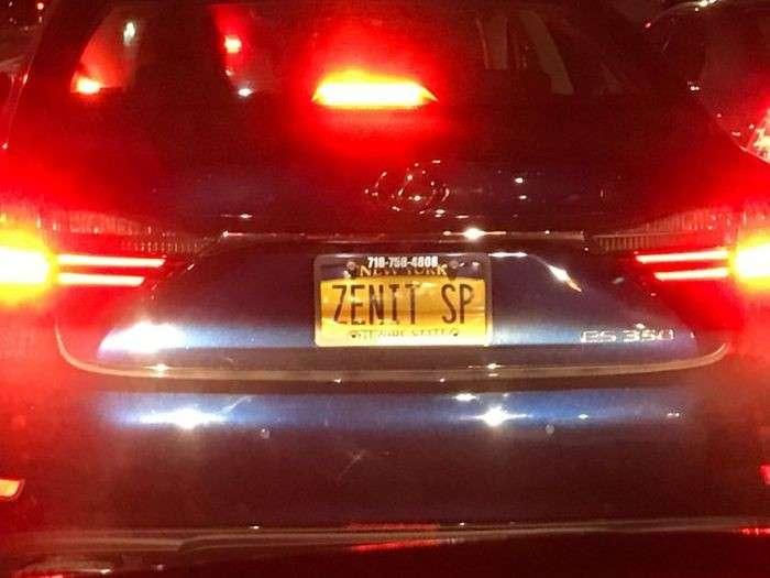 Русские автомобильные номера в США